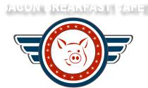 Bacon Breakfast Cafe Logo